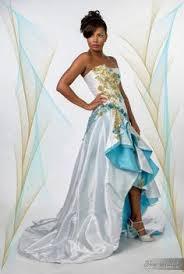 robe de mariã e createur créateur robe creole mariée mariee antillaise noir