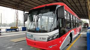 scania delivers underpinnings for trolleybuses to são paulo