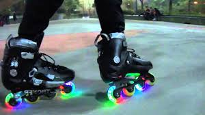 light up inline skates led wheel inline skating roda led patinação inline hd mike youtube