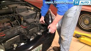 how to repair install replace headlights on ford focus 00 02