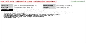 Telecom Resume Samples by Telecom Rigger Resumes Samples