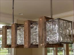 living room rustic led light fixtures farmhouse dining table