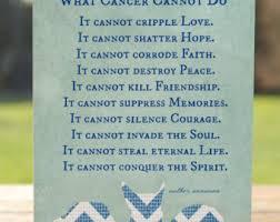 cancer sympathy card etsy