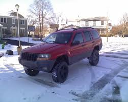 lifted jeep cherokee grand cherokee suspension lift
