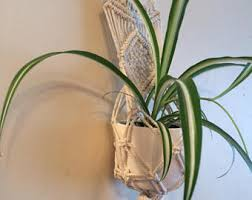 Hanging Indoor Planter by Indoor Plant Holder Etsy
