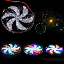 multi colored strobe light 1pc new led light strobe windmill lights multi color signal round