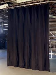 Light Block Curtains Blocking Industrial Black Out Curtains For Work Areas