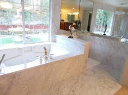 marble bathtub granite marble and quartz shower wall and tub deck northwest