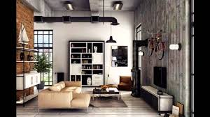 Loft Interior Stylish Industrial Inspired Loft Interiors Youtube