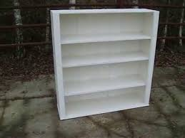 vintage painted shabby chic bookcase youtube