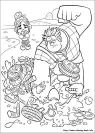wreck ralph sugar rush racers coloring pages candlehead