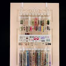 Over The Door Organizer Another Great Jewlery Organizer Option Might Be A Bit Noisy Tho
