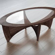 End Table Ls Trumpet Oval Coffee Table
