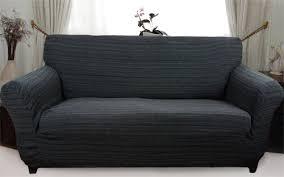 Black Sofa Slipcover Black Sofa Covers Perfect As White Leather Sofa For Bernhardt Sofa