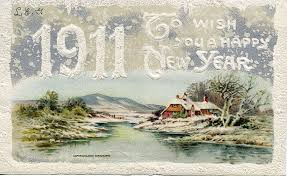 new year post card happy new year from a century ago postcard greetings