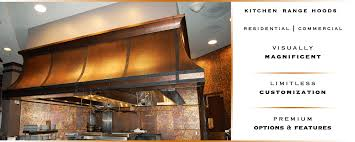 Kitchen Collection Store Hours by Custom Copper U0026 Stainless Steel Kitchen Hoods Havens Metal