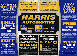 Map Of Westerville Ohio by Coupons Harris Automotive Repair