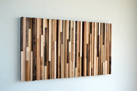 wall design wooden wall rectangle brown varnished wooden