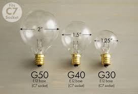 what size light bulb guide to globe lights globe string lights terminology