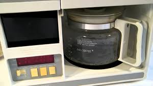 Mr Coffee Compact Under The Cabinet Coffeemaker Youtube
