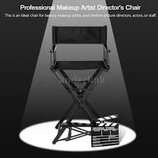 professional makeup artist chair makeup artist chair director s chair aluminum frame