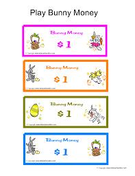 easter egg hunt game ideas bunny money