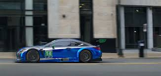 lexus rc f gt3 race car in commercial lexus
