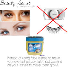 Where Do You Put Your Makeup On by Putting Vaseline On Your Eyelashes Will Not Make Them Longer