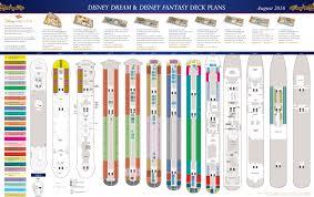 deck plans disney dream u0026 disney fantasy u2022 the disney cruise