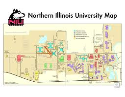 Illinois State University Campus Map by Niu Map My Blog