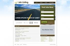 web templates website templates directory listing website theme job website templates free job portal templates phpjabbers