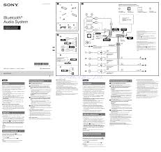 sony mex bt3100p wiring diagram sony mex bt3000p bluetooth pairing