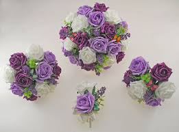 plum lilac u0026 ivory rose butterfly and lavender wedding flower