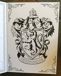 gryffindor coloring pages creativemove