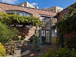 Urban Wall Garden - hanson brick patio industrial with urban garden mount mailboxes