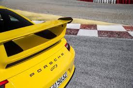 Porsche 911 Yellow - porsche 911 gt3 racing yellow the new porsche 911 gt3