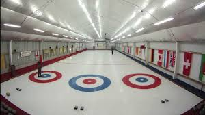 how to make a curling rink laying the ice youtube