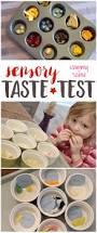 preschool 5 senses taste test food activities and senses preschool