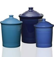 cobalt blue kitchen canisters cobalt blue ceramic canister set made in italy kitchen