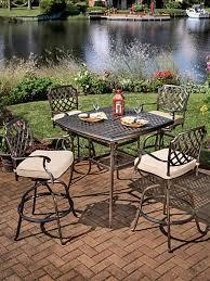 Aluminum Patio Bar Set Outdoor Bar Stools U0026 Tables Outdoor Bar Sets Long Island Ny
