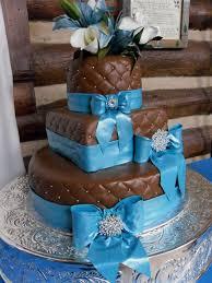 my chocolate fondant and blue ribbon wedding cake wedding cakes