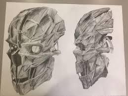 Dishonored Mask Art Corvo U0027s Mask Dishonored