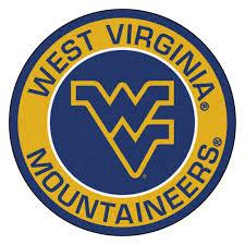 Wvu Home Decor Virginia University Mountaineers Logo Roundel Mat 27