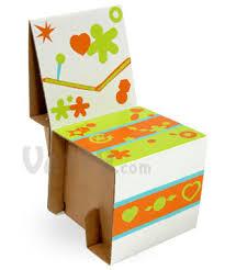 How To Make A Cardboard Chair Elia Mini Cardboard Chair Kit Assemble Your Very Own Cardboard Chair