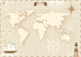 World Map Antique by 2 617 Antique World Map Stock Vector Illustration And Royalty Free