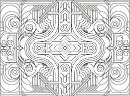 printable coloring pages for adults geometric geometry coloring pages 19 pictures colorine net 15108