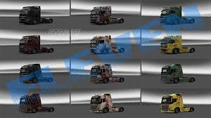 rusty paint 6 different colors to scs volvo u0027s ets 2 mods