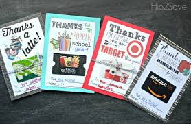 free printable gift card holders for gifts hip2save