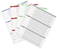 Ten Pin Bowling Sheet Template Printable Bowling Card Sheet