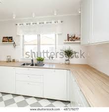 fancy kitchen interior stock photo 591201476 shutterstock